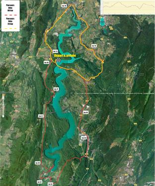 Half Ironman De Vouglans 39 Information Pacrours Velo 89 Km